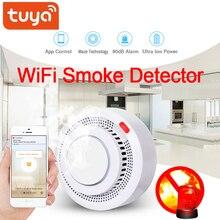 Tuya wifi Smoke Detector Smokehouse Combination Fire Alarm H