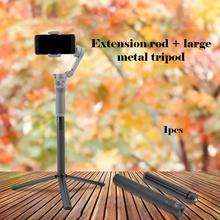 Удлинитель+ большой металлический штатив для спортивной камеры с фиксированным кронштейном, штатив с автоспуском, профессиональный модный портативный