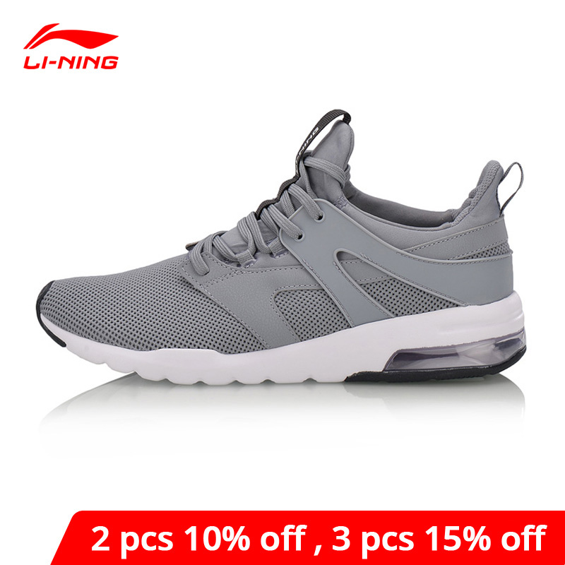 Li-Ning <font><b>Men</b></font> BUBBLE UP-FOCUS Classic Lifestyle <font><b>Shoes</b></font> Wearable Cushion <font><b>LiNing</b></font> li ning Sneakers Support Sport <font><b>Shoes</b></font> AGCN007 YXB129 image