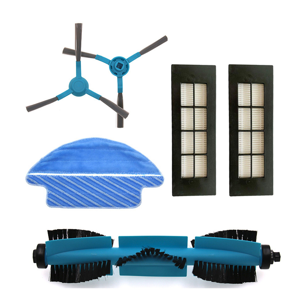 Main Brush HEPA Filter Side Brushes For Conga 3090 Series Vacuum Cleaner Mop Cloth Replacement Roller Brush Accessories