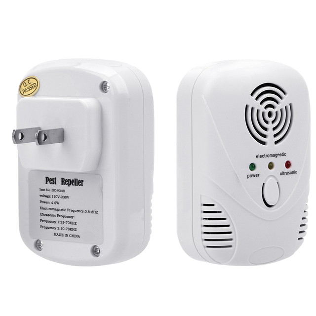 HILIFE  EU/US Plug Cockroach Trap Mouse Killer 110-240V/5W Electronic Ultrasonic Pest Control Repeller 2