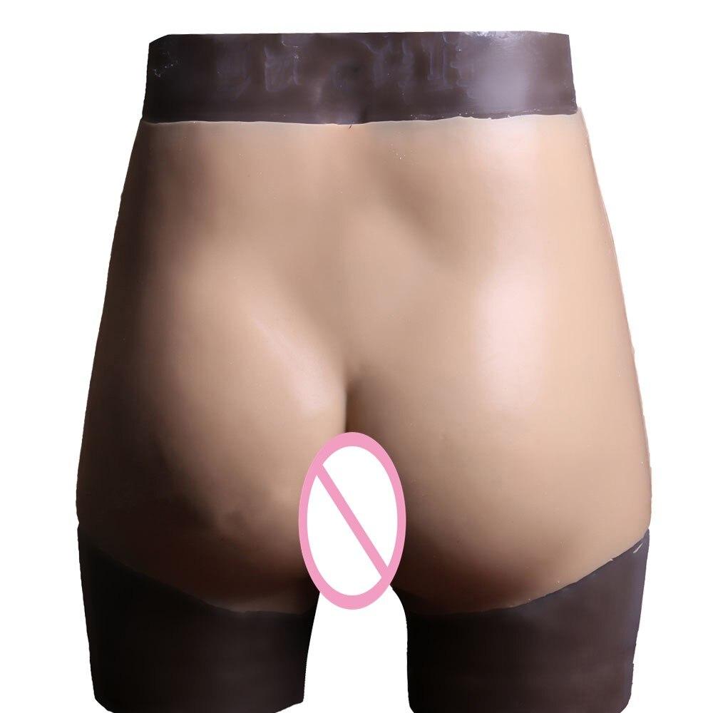 KnowU Inserted Pore Silicone Panty Urinary Transvestite Crossdress Transgender bragas de silicona vagina culotte en silicone