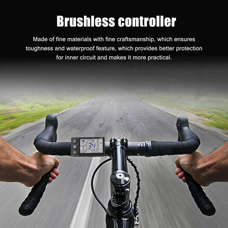 Elektrische Bike Controller 24V/48V/36V/60V 350W Bürstenlosen E-bike controller mit LCD Display Fahrrad Motor Roller Controller S866