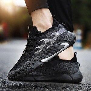 Men Running Shoes Casual Mesh