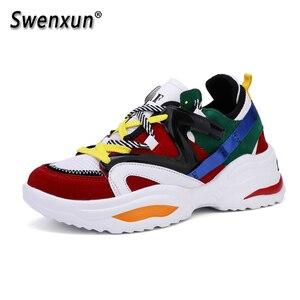 Image 1 - Модные кроссовки для мужчин и женщин, высококачественная повседневная обувь, Классическая Удобная Уличная обувь для женщин, Размеры 35 47