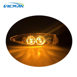 Image 5 - Motorcycle Amber Rear Turn Lamp Signal Light LED For BMW F800 R1200 GS/R/S S100R S1000XR HP4
