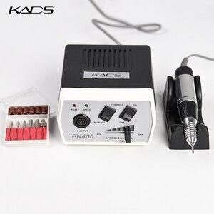 Image 2 - KADS 30000RPM Electric Nail Drill Macchina di Pedicure Trapano Maniglia Nail Drill Bits Set Trapano Nero Della Penna del Manicure Macchine Utensili