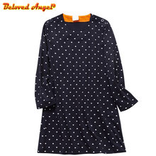 Baby Girl Dress Kids Costume Princess Christmas Dresses Cotton Vestidos Children Long Sleeve Dress for Girls Clothes 3-8T