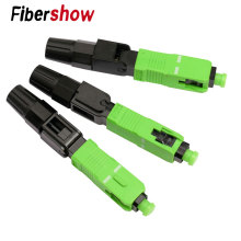 FTTH SC APC single-mode fiber optic SC APC quick connector Fiber Optic Fast Connector цена