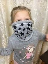 Bufanda de invierno infinity para bebés, bufandas de algodón de cinco estrellas para niños y niñas, bufanda para niños, bufanda de anillo suave, bufandas cálidas