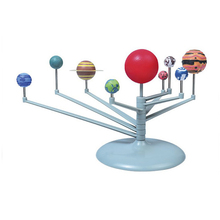 Assembling Nine Sphere-Set Suspension Puzzle Planets Technology DIY Small-Making Children's