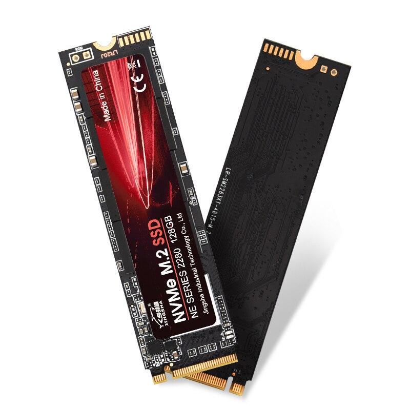 JINGSHA M2 SSD NVMe 256GB 512GB 1TB 128GB M.2 2280 PCIe SSD Internal Solid State Drive for Laptop Desktop SSD Drive