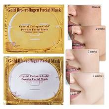 New Masks Women Beauty Face Skin Care 24K Gold Collagen Face Mask Crystal Golden Dropshipp Moisturizing Maquillaje TSLM1
