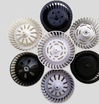 цена на Motor Accessories Replacement Bath Heater Motor Fan Blade Warm Wind Fan Bathroom Exhaust Wan Ventilating Wan Blade Impeller