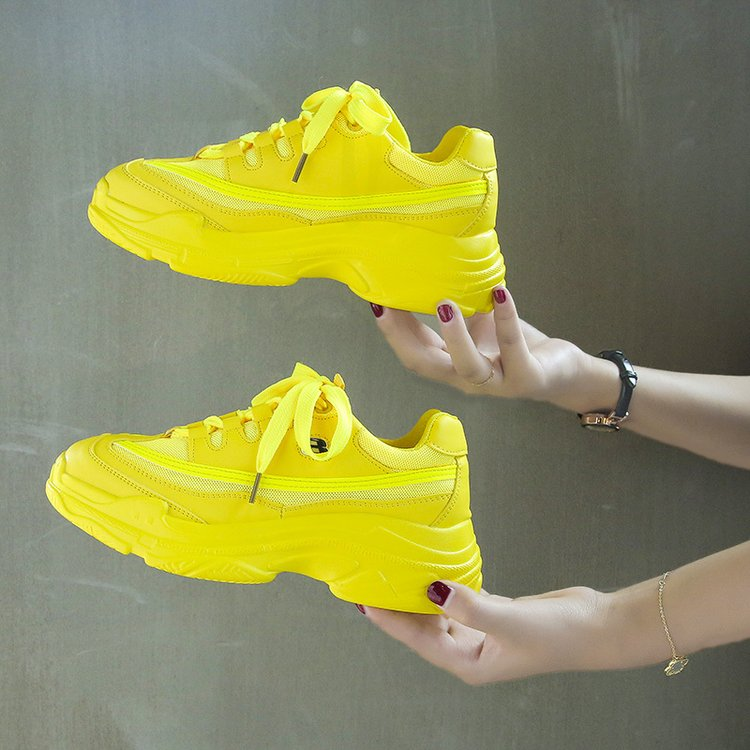 Candy-Colored Fashion Chunky Sneakers 6