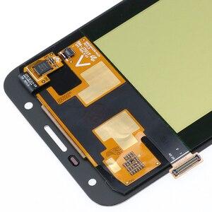 Image 4 - 100% orijinal Samsung Galaxy J7 neo J701 J701F J701M AMOLED LCD ekran dokunmatik Digitizer ekran parlaklık ayarı