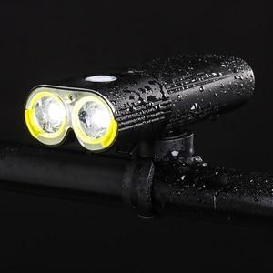 Image 5 - Bicicleta profissional ipx6 à prova dwaterproof água 1600 lumens luz ciclismo power bank acessórios da bicicleta usb recarregável lanterna lâmpada