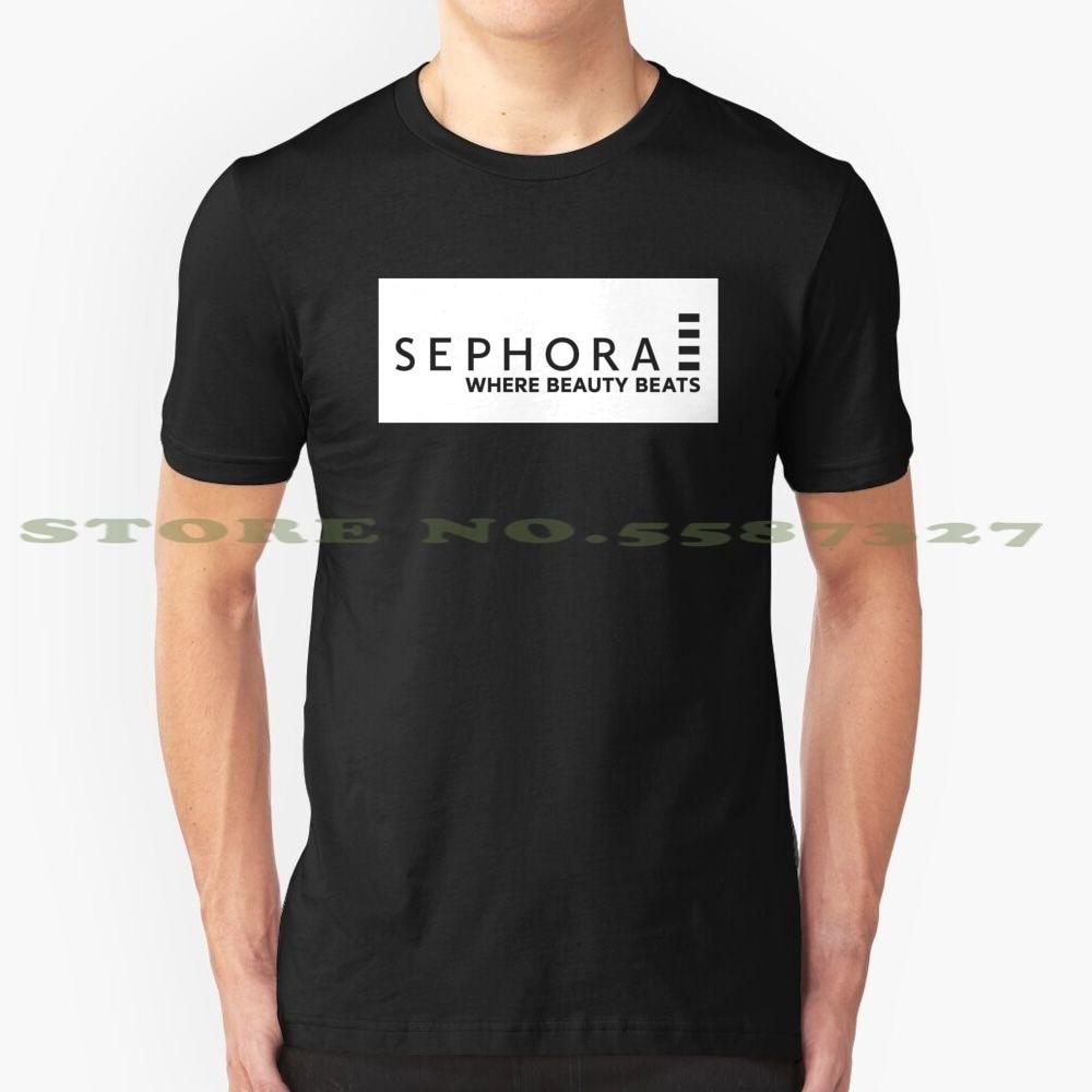 Sephora Black White Tshirt For Men Women Sephora Make Up Teenage Cute Sweet Adorable Teen Girl Boy Men Women Unisex White Black