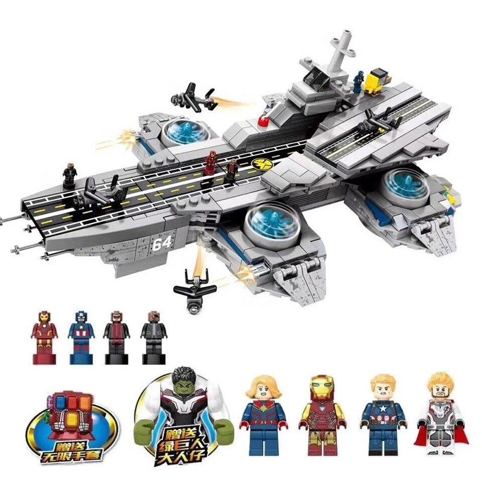 NEW The Shield Carrier Set Legoinglys Marvel Super Heroes Model Building Blocks Bricks Boys Christmas Gifts Kids Toys Children