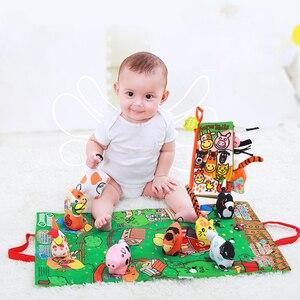 Детские мягкие Развивающие игрушки для детей 0-12 месяцев в подарок WJ407