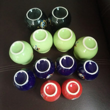 vacuum cupping 12pcs Health Tank Massage Cup Slimming Beauty Ceramic Treatment Pot Cupping Fire Jar Therapy Care Tool Body
