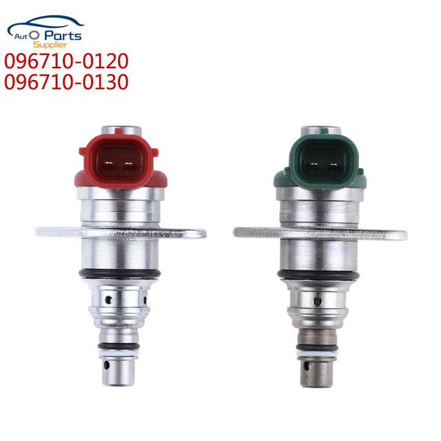 A pair Control Valve FUEL PUMP SUCTION CONTROL VALVE 096710-0120 & 096710-0130 FOR Toyota Corolla HIACE PREVIA RAV4