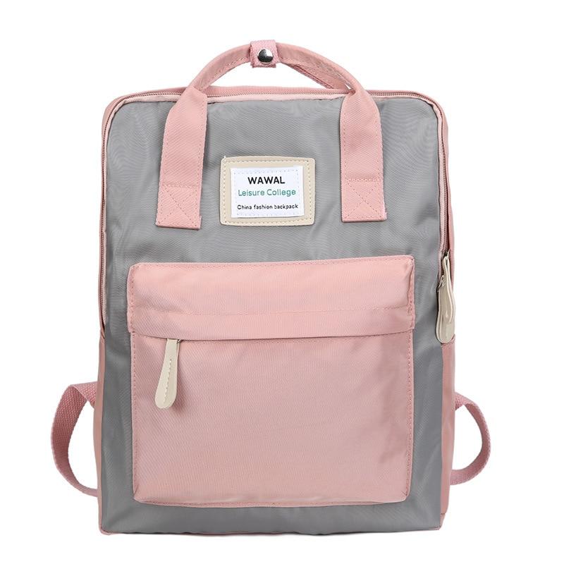 Fashion Women Backpack 2020 Japan Waterproof Canvas Travel Backpack Female Teenagers Girls Shoulder Bag Bagpack Ladies Mochila