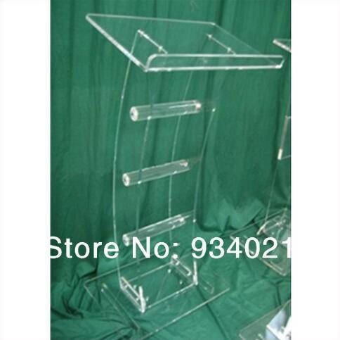 Wholesale Clear Acrylic Podium Acrylic Tabletop Lectern Plexiglass Pulpit Lectern Acrylic Pulpit Podium Acrylic Lectern Podium