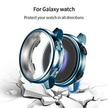 Мягкий чехол для часов из ТПУ galaxy active 1 защитный на весь