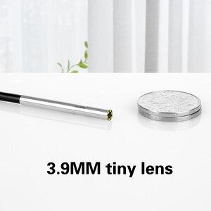 Image 3 - 3 في 1 3.9 مللي متر المنظار عدسة صغيرة صغيرة أندرويد المنظار مايكرو مرنة نوع C مقاوم للماء التفتيش ل أندرويد PC Borescope جديد