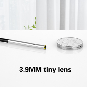 Image 3 - 3 ב 1 3.9mm אנדוסקופ עדשה זעירה מיני אנדרואיד אנדוסקופ מיקרו גמיש סוג C עמיד למים בדיקה עבור אנדרואיד מחשב borescope חדש