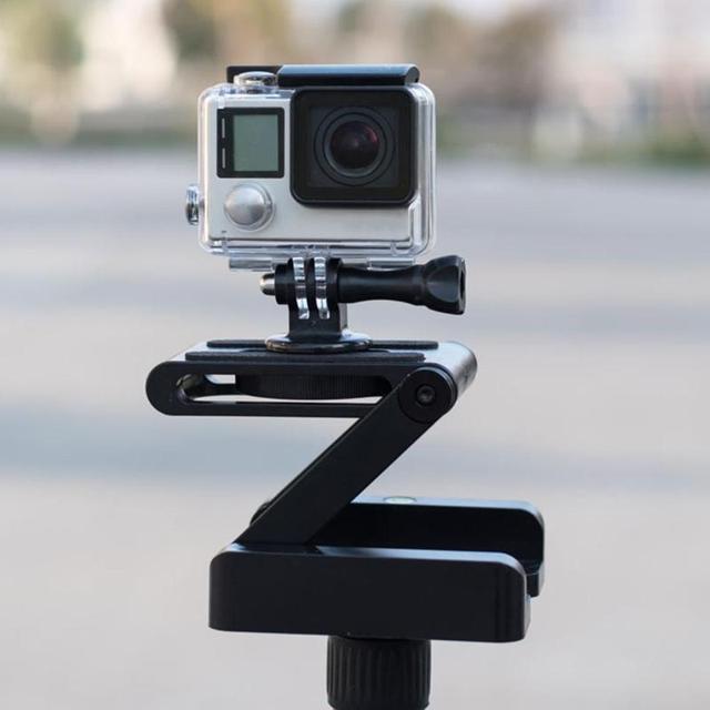 Складной штатив ALLOYSEED Z, гибкий наклон, из алюминиевого сплава, складная наклонная головка Z, БЫСТРОРАЗЪЕМНАЯ пластина, подставка, крепление для телефонов и камер