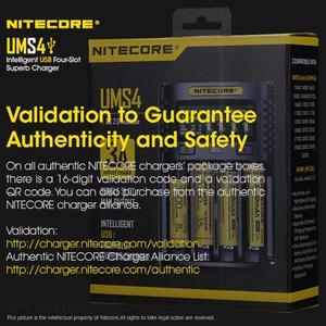Image 5 - Nitecore UMS4 インテリジェント 4 スロットqc高速充電 4A大電流マルチ互換usb充電器