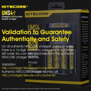 Image 5 - Nitecore UMS4 Intelligente Vier Slot Qc Snelle Opladen 4A Grote Stroom Multi Compatibele Usb Charger