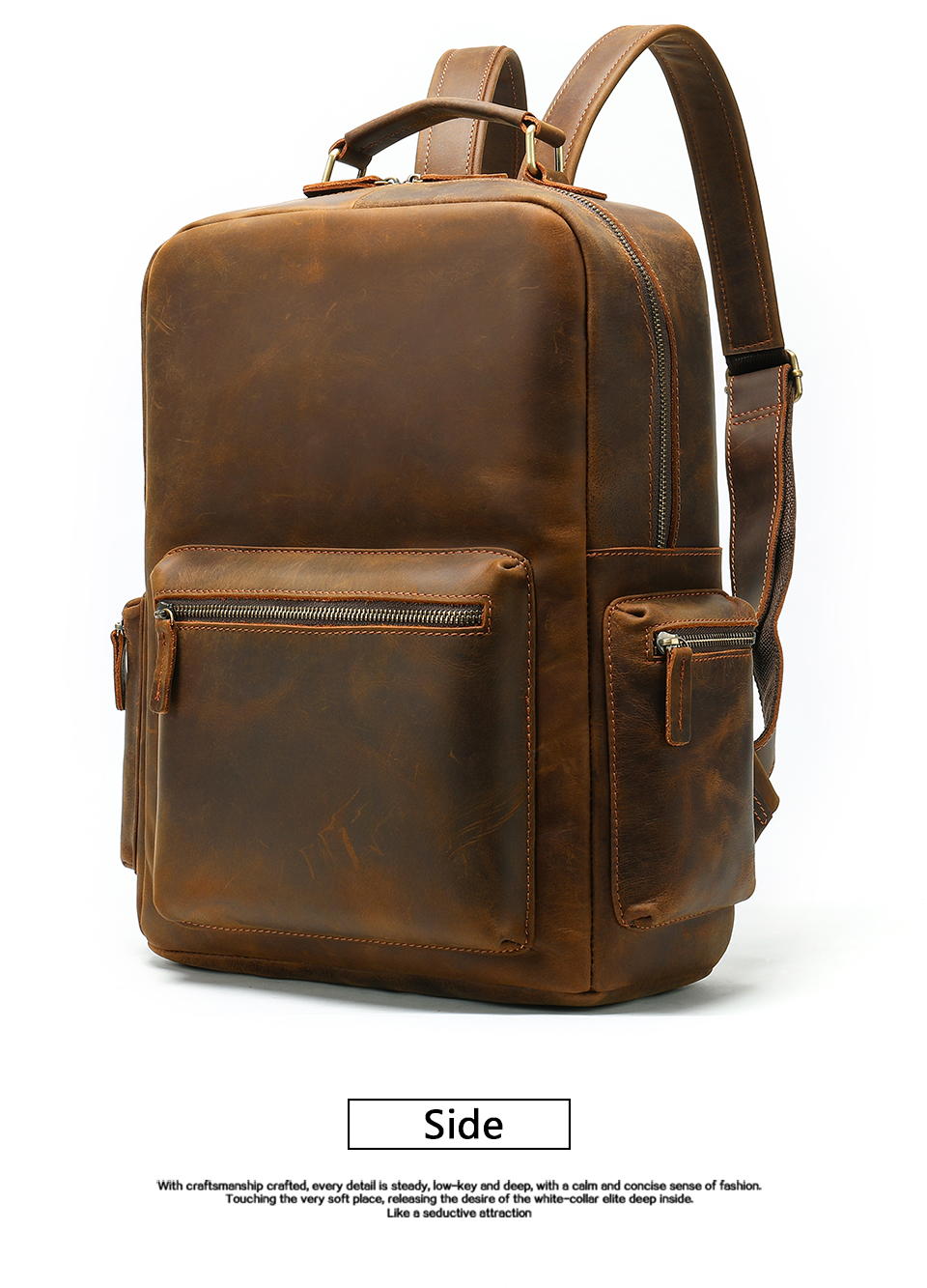 escola moda viagem grande cavalo louco mochila