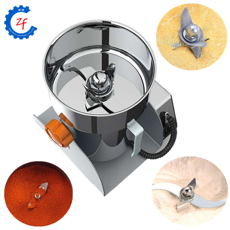 2000W chili powder grinding machinery 500g electric corn grinder rice flour mill Food Processors    - title=