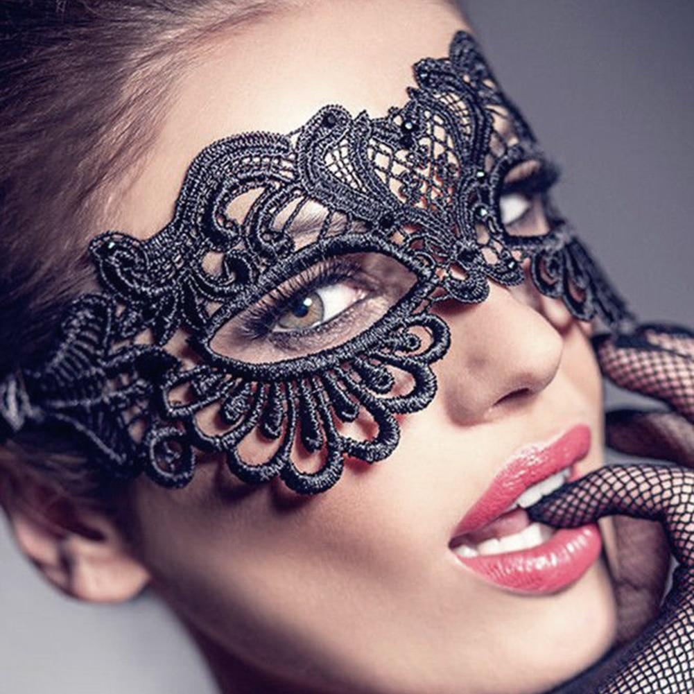Лидер продаж! Женские кружевные маскарадные маски, вечерние маскарадные маски принцессы на Хэллоуин