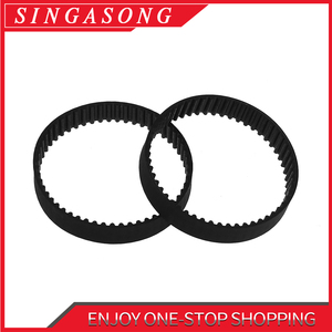 GT2 Closed Loop Timing Belt Rubber 2GT 6mm 3D Printers Parts 110 160 200 280 400 610 852 1220 mm Synchronous Belts Part(China)