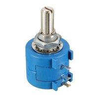 3590S Präzision Mehrgang potentiometer 10 Ring Einstellbaren Widerstand Potentiometer Wirewound Variable multi drehen TOPF 500 Ohm|Induktoren|   -