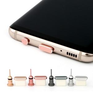 2020 Type C Phone Charging Port 3.5mm Earphone Jack Sim Card USB C Dust Plug For Huawei P10 P30 Pro Samsung S10 S9 S8 Note 8 9