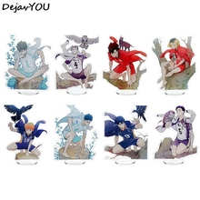 13cm Anime Haikyuu Figures Desk Plate Models Acrylic Stand Model Toys Action Figures Desk Decor Ornaments