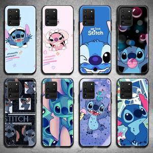 Image 1 - Leuke Cartoon Telefoon Geval Voor Samsung Galaxy S21 Plus Ultra S20 Fe M11 S8 S9 Plus S10 5G Lite 2020 Steken
