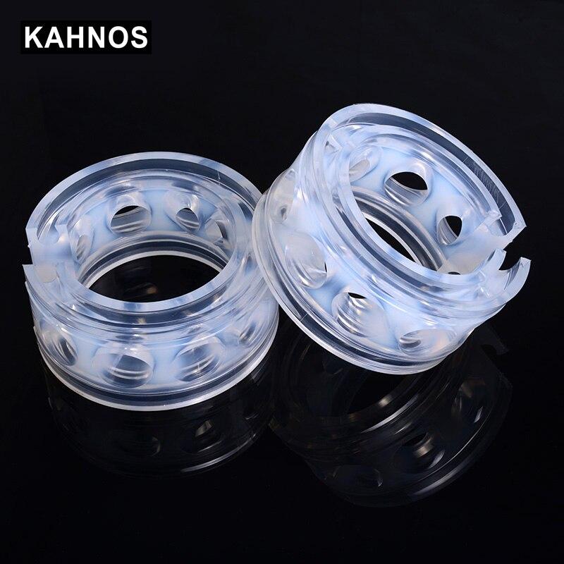 2 adet araba amortisör yayı tampon güç otomatik tamponlar yaylar tamponlar yastık üretan arabalar için ürünler tampon A/ b/C/D/E/F tipi