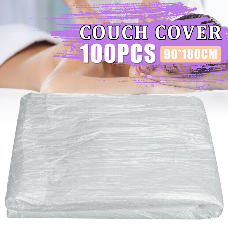 100Pcs Disposable Bedspread Cosmetic Salon Sheets SPA Massage Treatment Disposable Bed Table Cover Sheets Bed Film