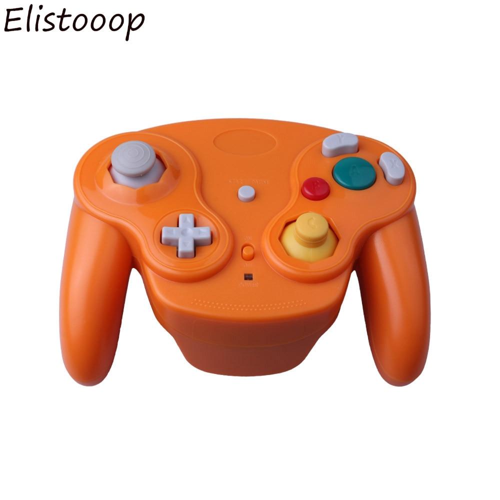 Беспроводной игровой контроллер 2,4 ГГц для NGC геймпад джойстик для Game-Cube для Nintendo для NGC для Wii