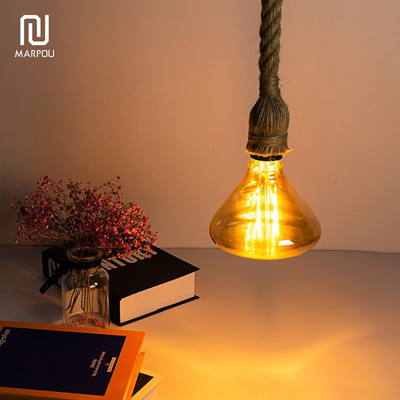 Retro Decorative Rope E27 Hanging Lamp Holder 1m 1.5m 2m Socket E27 Lamp Base Bulb Holder Chandelier Connector Adaptor Cable 4