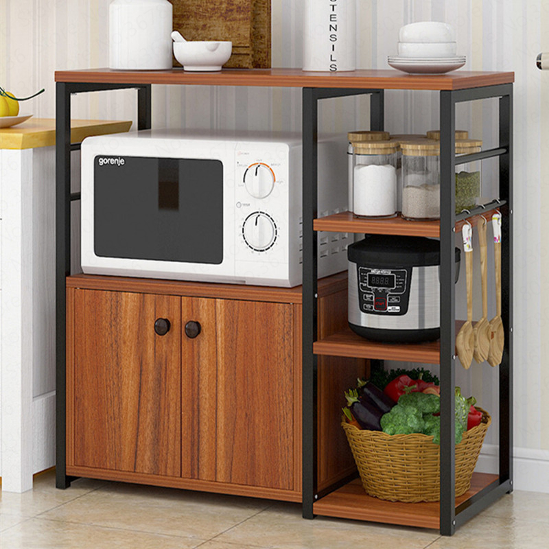 multifunction oven rack kitchen rack large storage rack microwave oven home storage shelf cabinet kitchen cabinet locker shelf