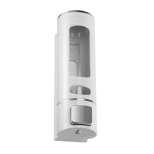 Image 3 - 400ML 800ML Wall Mount Soap Dispenser Lotion Pump Shampoo Shower Gel Dispenser Hand Sanitizer Lock Design For Bathroom Kitchen