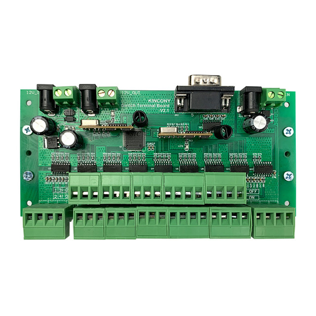 32 buttons switch panel module for kc868 relay board controller with RF wireless remoter control 32 relay output long distance
