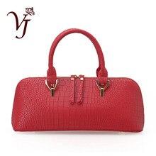 Bolsas de luxo vermelho bolsas femininas designer de couro de jacaré bolsa crossbody feminina zíper totes saco da senhora sacos de ombro sac a principal